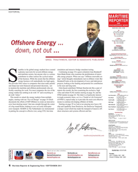 Maritime Reporter Magazine, page 6,  Sep 2015