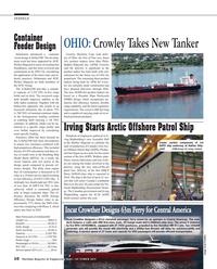 Maritime Reporter Magazine, page 10,  Oct 2015