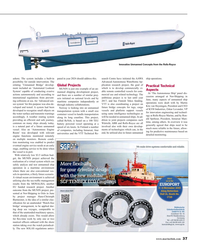 Maritime Reporter Magazine, page 37,  Oct 2015