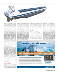 Maritime Reporter Magazine, page 39,  Oct 2015