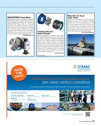 Maritime Reporter Magazine, page 67,  Oct 2015