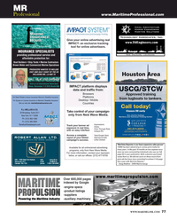 Maritime Reporter Magazine, page 77,  Oct 2015