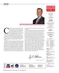 Maritime Reporter Magazine, page 8,  Nov 2015
