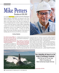 Maritime Reporter Magazine, page 10,  Nov 2015