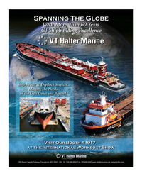 Maritime Reporter Magazine, page 3rd Cover,  Nov 2015