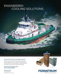 Maritime Reporter Magazine, page 4th Cover,  Nov 2015