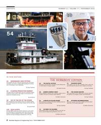 Maritime Reporter Magazine, page 2,  Nov 2015