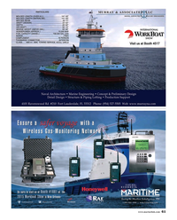 Maritime Reporter Magazine, page 61,  Nov 2015