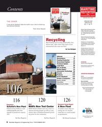 Maritime Reporter Magazine, page 6,  Nov 2015