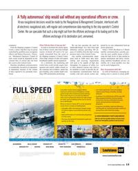Maritime Reporter Magazine, page 13,  Dec 2015