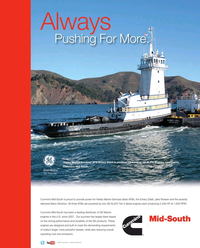 Maritime Reporter Magazine, page 2nd Cover,  Dec 2015