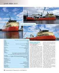 Maritime Reporter Magazine, page 32,  Dec 2015