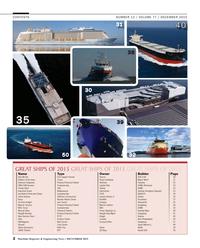 Maritime Reporter Magazine, page 2,  Dec 2015