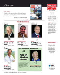 Maritime Reporter Magazine, page 4,  Dec 2015