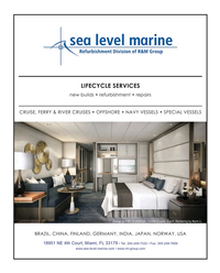 Maritime Reporter Magazine, page 2nd Cover,  Feb 2016