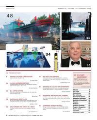 Maritime Reporter Magazine, page 2,  Feb 2016