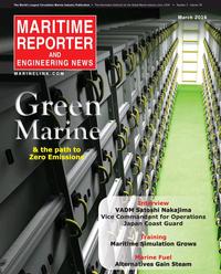 Maritime Reporter Magazine Cover Mar 2016 - Green Marine Technology