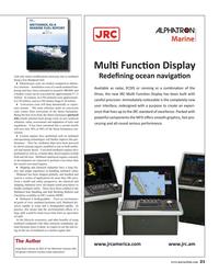 Maritime Reporter Magazine, page 21,  Mar 2016