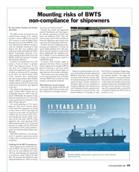 Maritime Reporter Magazine, page 45,  Mar 2016