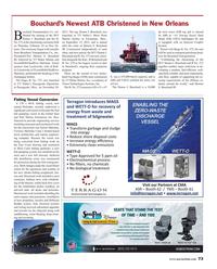 Maritime Reporter Magazine, page 73,  Mar 2016