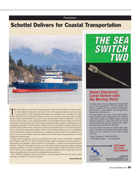 Maritime Reporter Magazine, page 85,  Mar 2016