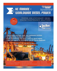 Maritime Reporter Magazine, page 3rd Cover,  Mar 2016