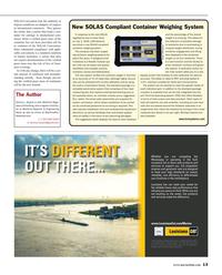 Maritime Reporter Magazine, page 13,  Apr 2016