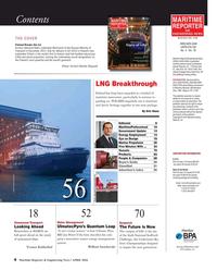 Maritime Reporter Magazine, page 4,  Apr 2016