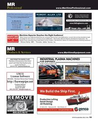 Maritime Reporter Magazine, page 93,  Apr 2016