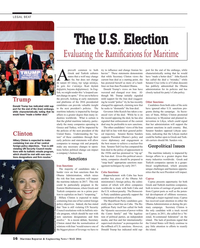 Maritime Reporter Magazine, page 16,  May 2016