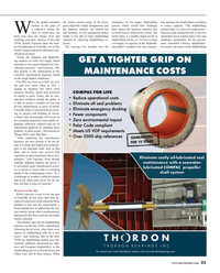 Maritime Reporter Magazine, page 31,  May 2016