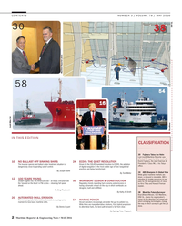 Maritime Reporter Magazine, page 2,  May 2016