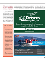 Maritime Reporter Magazine, page 49,  May 2016