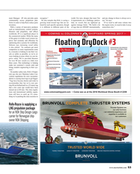 Maritime Reporter Magazine, page 53,  May 2016