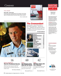 Maritime Reporter Magazine, page 4,  May 2016