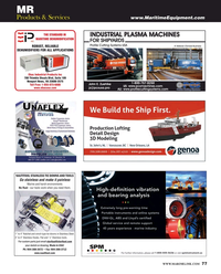 Maritime Reporter Magazine, page 77,  May 2016