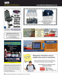 Maritime Reporter Magazine, page 78,  May 2016