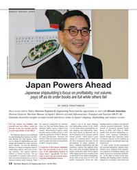 Maritime Reporter Magazine, page 12,  Jun 2016