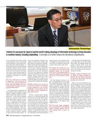 Maritime Reporter Magazine, page 14,  Jun 2016