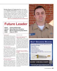 Maritime Reporter Magazine, page 39,  Jun 2016