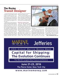Maritime Reporter Magazine, page 49,  Jun 2016