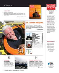 Maritime Reporter Magazine, page 4,  Jun 2016