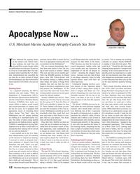 Maritime Reporter Magazine, page 12,  Jul 2016