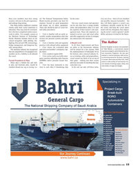 Maritime Reporter Magazine, page 15,  Jul 2016