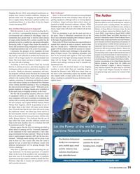 Maritime Reporter Magazine, page 21,  Jul 2016