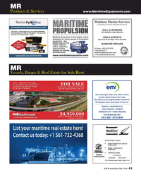 Maritime Reporter Magazine, page 63,  Jul 2016