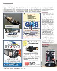 Maritime Reporter Magazine, page 104,  Aug 2016