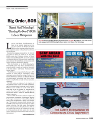 Maritime Reporter Magazine, page 109,  Aug 2016