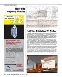 Maritime Reporter Magazine, page 112,  Aug 2016
