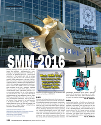 Maritime Reporter Magazine, page 114,  Aug 2016